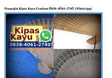 Pengrajin Kipas Kayu Cendana O838.4O61.274O[wa]