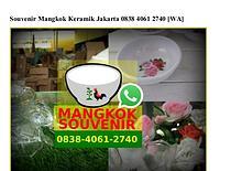 Souvenir Mangkok Keramik Jakarta 0838~406I~2740[wa]