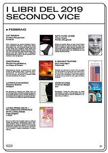 I libri del 2019, secondo VICE Italia.