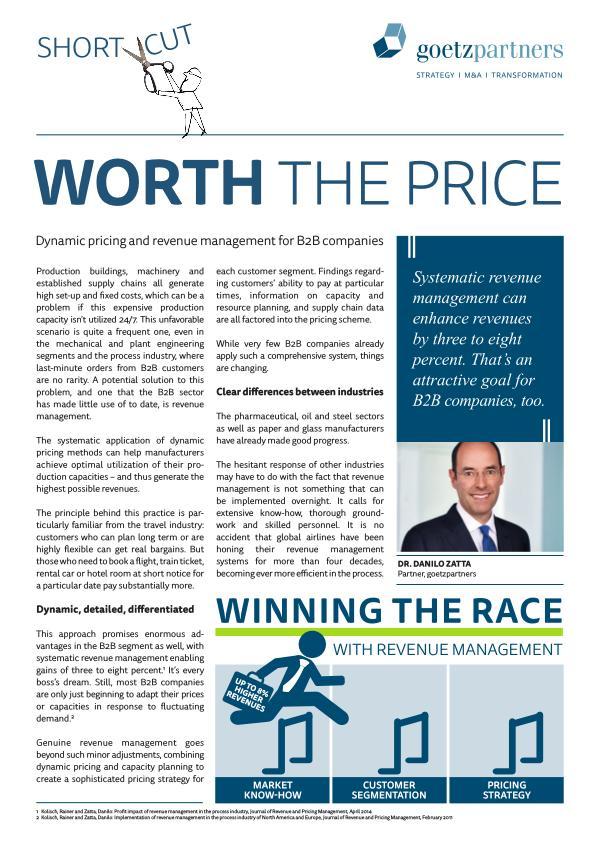 ShortCut: Revenue Management