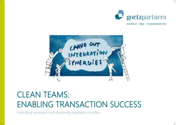Brochure: Clean Team
