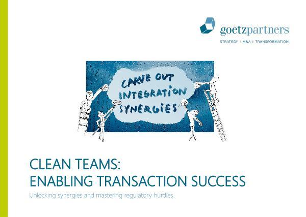 Brochure: Clean Team
