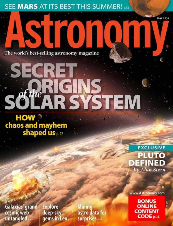 test 1 Astronomy - May 2018  USA