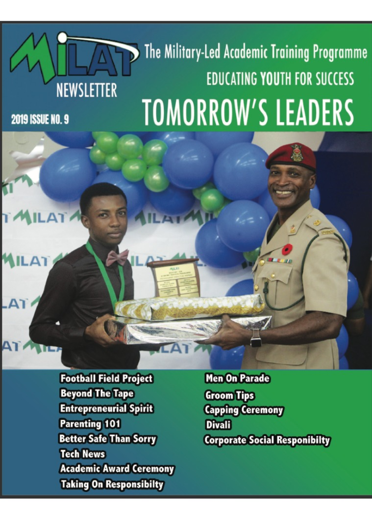 Tomorrow's Leaders This is our second online publication.