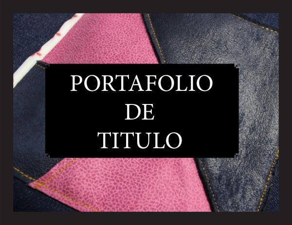 Portafolio de Titulo 2019 PORTAFOLIO