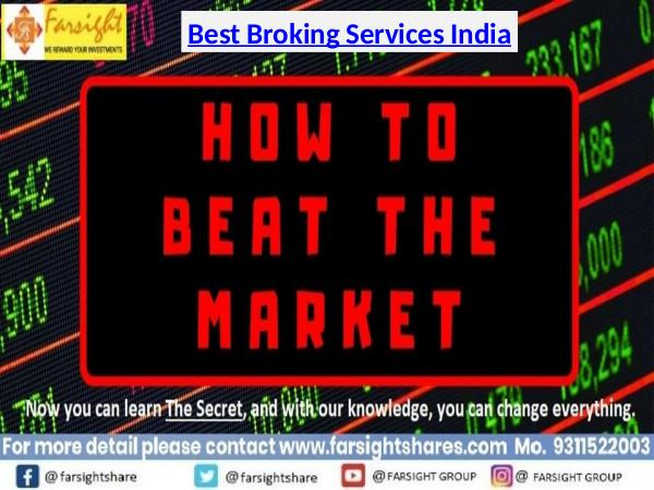Best Broking Services India, Stock Broking India, Financial Planning Best Broking Services India, Stock Broking India
