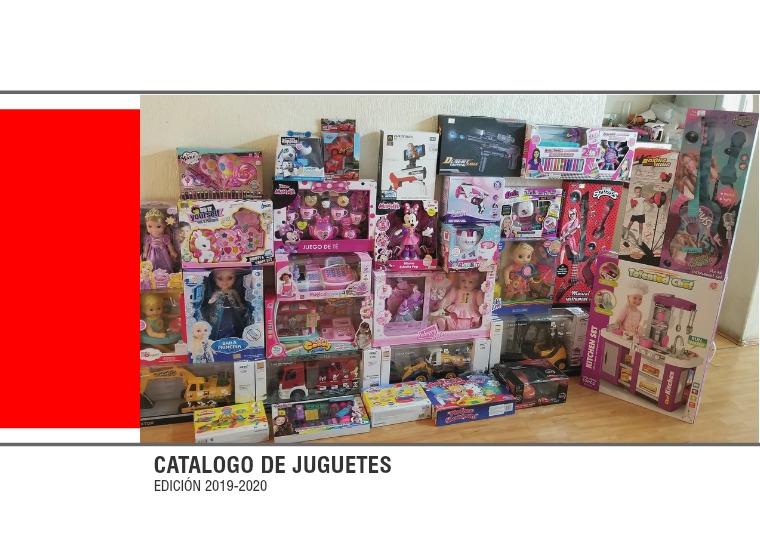 CATALOGO DE JUGUETES JUGUETES EDICIÓN 2019-2020