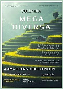 COLOMBIA MEGADIVERSA