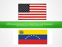 Differences between the USA and Venezuela