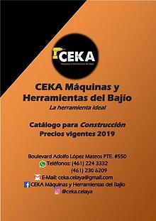 Catálogo Construcción CEKA