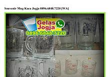 Souvenir Mug Kaca Jogja Ö896-6848-722Ö (WA)