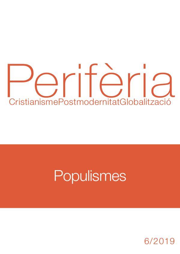 Populismos periferiacpg-2019