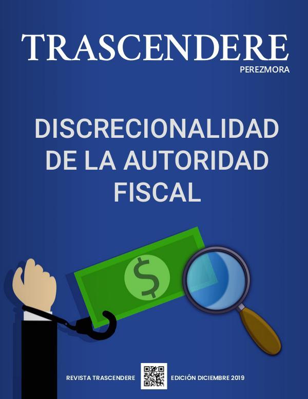 TRASCENDERE PEREZMORA- Edición Diciembre 2019 TRASCENDERE_EDICIÓN_DICIEMBRE_03