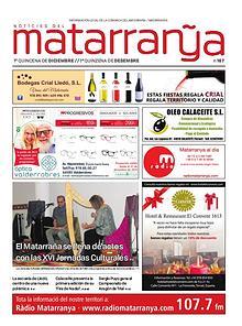 Notícies del Matarraña_167_Desembre 2019_1a. Quinzena