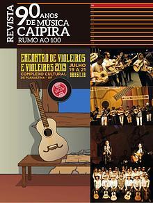 Revista 90 anos de música caipira - rumo ao 100