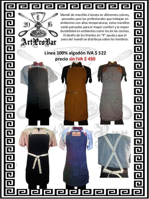 ArtProBar Catalogo de todos los productos Ene2020