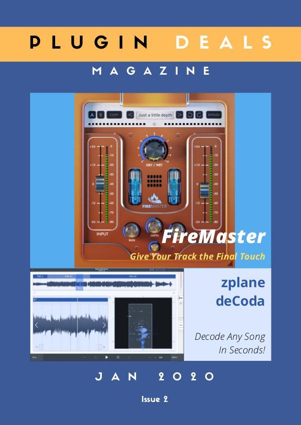 Plugin Deals Magazine Jan 2020