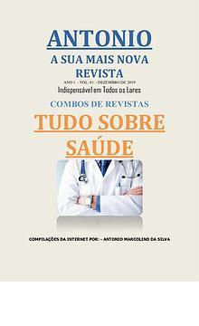 ANTONIO - A SUA MAIS NOVA REVISTA - SAÚDE - Primeira Edição