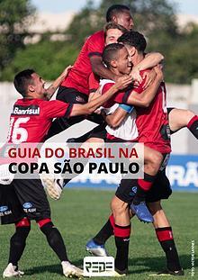 Guia do Brasil na Copa São Paulo.