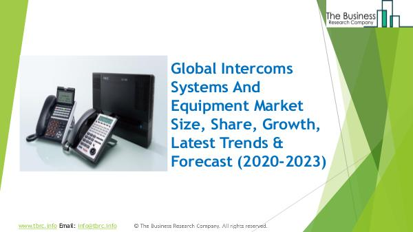 Intercoms Systems And Equipment Global Market Repo