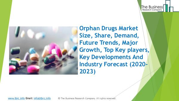 Orphan Drugs Market Global Report 2020