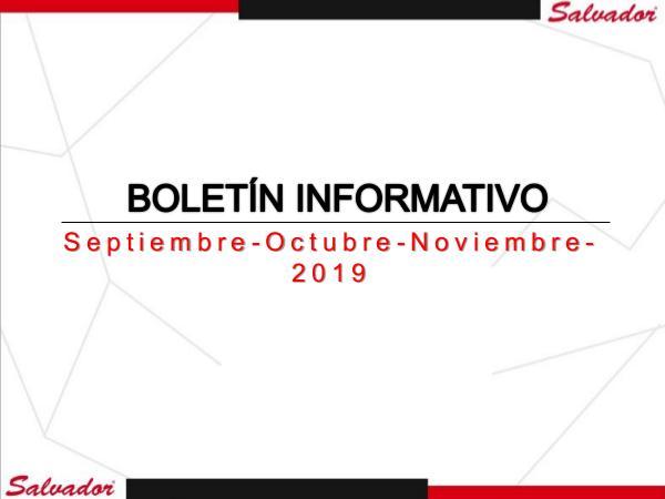 Corporativo Salvador - Boletín #7 Corporativo Salvador - Boletín #7