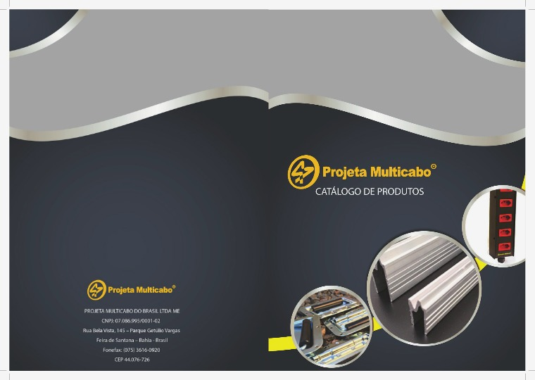 Folder - Projeta Multicabo CATALOGO