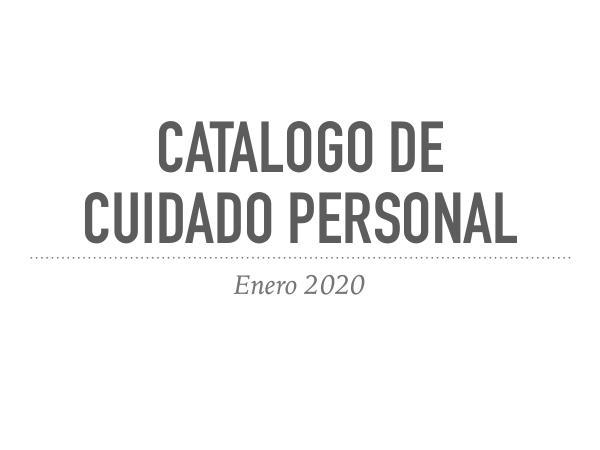 Catalogo de cuidado personal