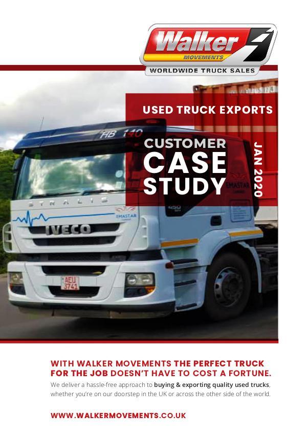 Customer Export: Walvis Bay to Zimbabwe - Case Study Export Case Study: Walvis Bay to Zimbabwe