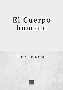 Canon del Cuerpo Humano