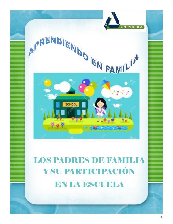 APRENDIENDO EN FAMILIA APRENDIENDO EN FAMILIA REVISTA