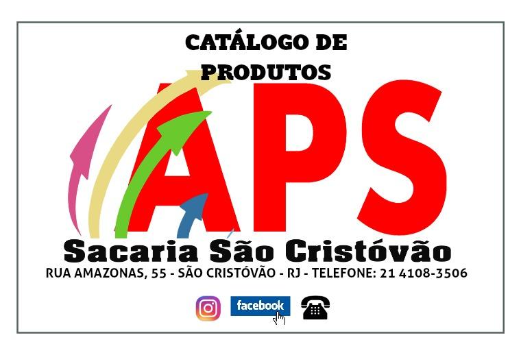Catálogo preços APS Sacaria Catalogo APs
