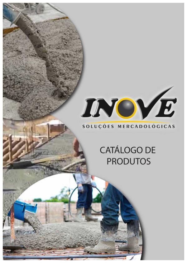 Consumíveis para as indústrias de cimento, concreto, argamassa, etc. Catálogo Inove 2020