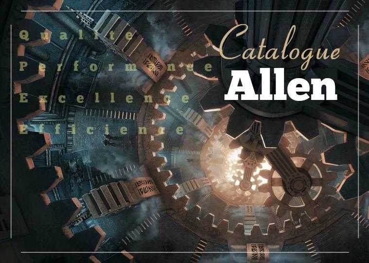 Catalogue d'accessoires Allen Industries
