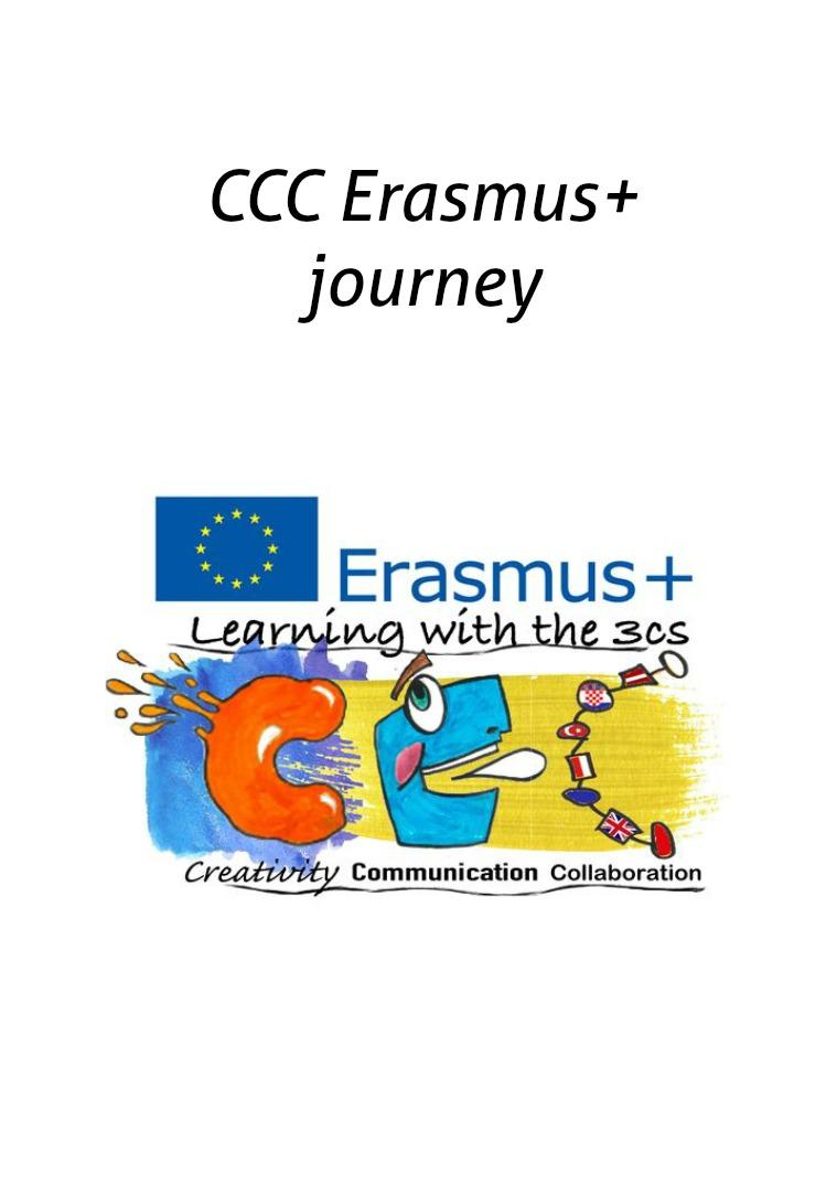 CCC Erasmus+  journey erasmus