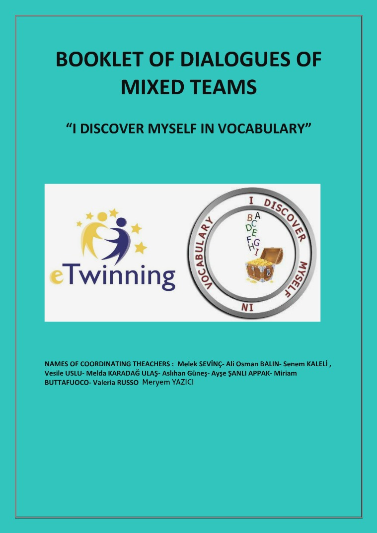 My first Publication Booklet- I discover myself in voc. dialogs of mixe