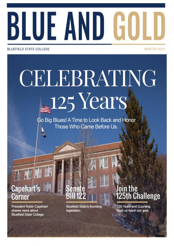 Blue and Gold Winter Edition 2020
