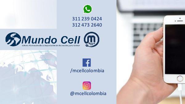 MUNDO CELL COLOMBIA CATALOGO LOCAL 24 FEBRERO CATALOGO NUEVO