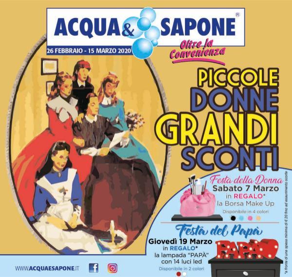 Acqua&Sapone Offerte dal 26 Febbraio 2020