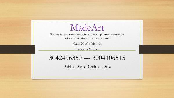 CATALOGO MADEART catalogo de servicio3