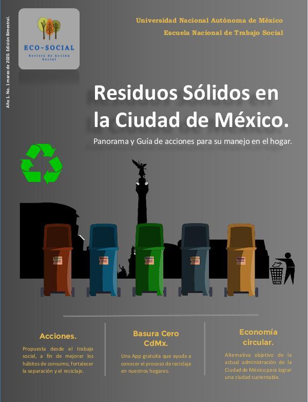Residuos Sólidos en la Ciudad de México. Revista Qué son los residuos sólidos