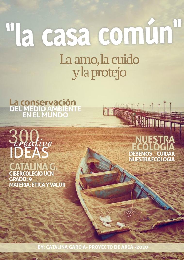 PROYECTO DE AREA ETICA Y VALORES 2020 NUESTRA