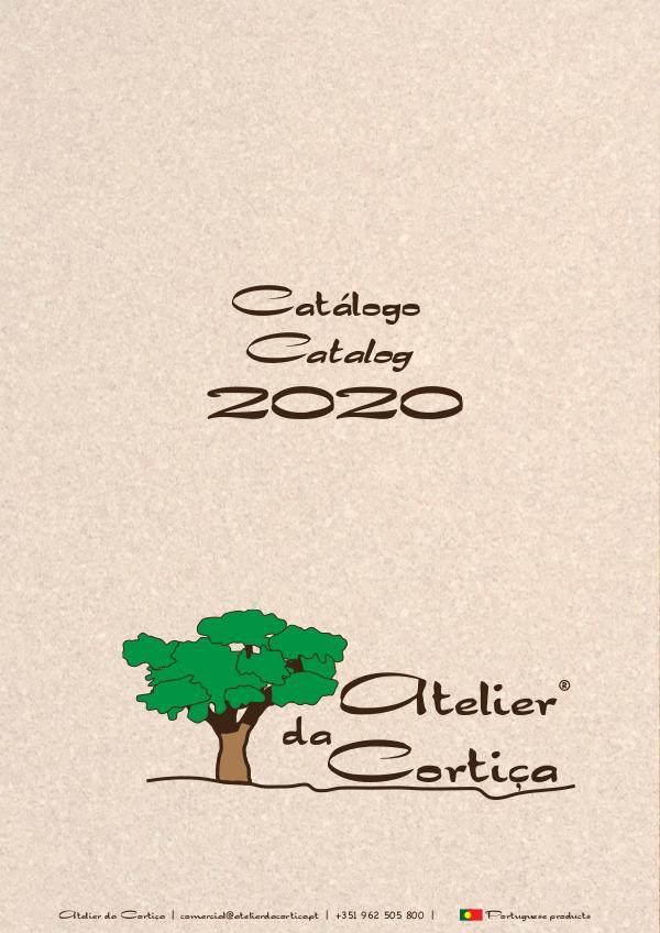 Catalogo 2020 Atelier da Cortiça Catálogo 2020 Atelier da Cortiça