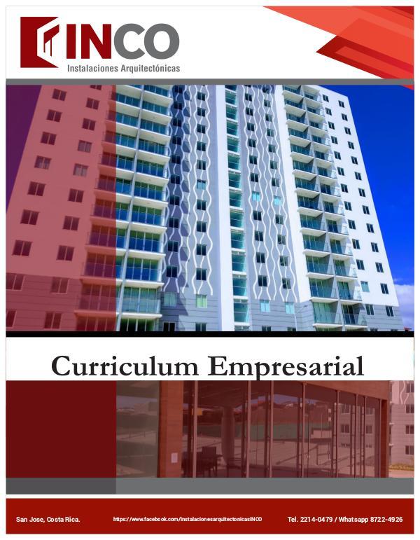 Curriculum INCO CURRICULUM