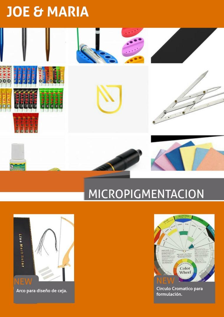 CATALOGO MICROPIGMENTACION 1 Catalogo J&M
