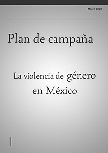 Plan de campaña