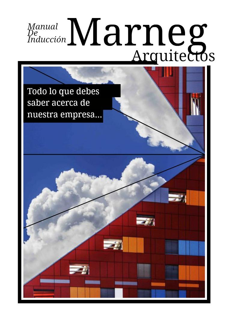 MarNeg Arquitectos Manual de induccion MarNeg arquitectos