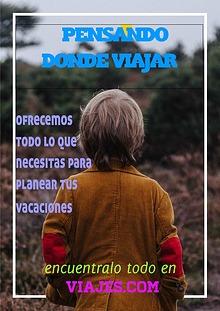 PENSANDO DONDE VIAJAR