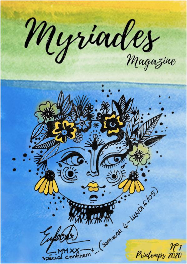 Myriades magazine printemps 2020 Myriades magazine printemps 2020