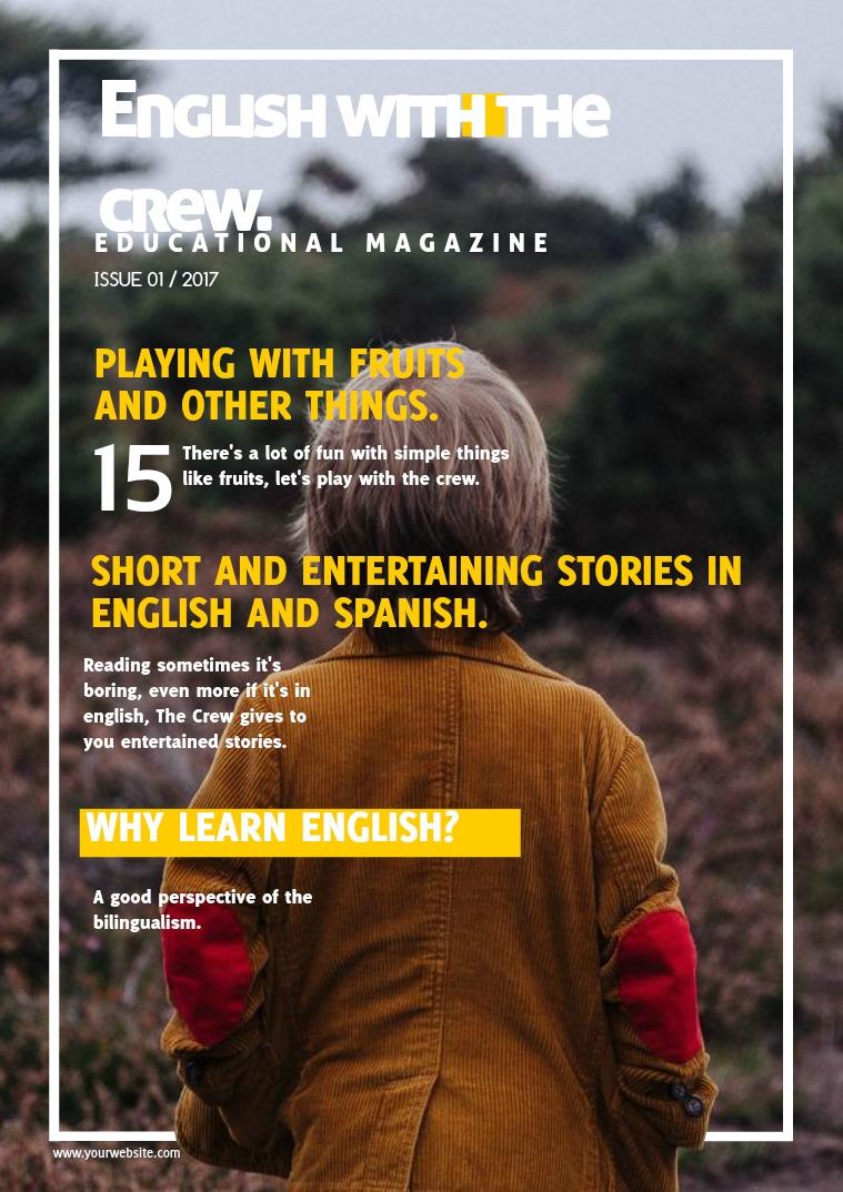Magazine for children. Magazine for children.